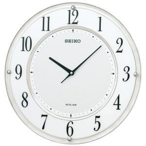 【セイコー】SEIKO ソーラー電波掛け時計 SF506W 【時の逸品館】|ippin-seiko-clock