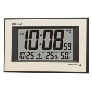 【セイコー】SEIKO デジタル電波掛け時計 SQ438G 【時の逸品館】|ippin-seiko-clock