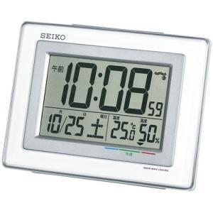 【セイコー】SEIKO 電波目ざまし時計 SQ686W 【時の逸品館】|ippin-seiko-clock