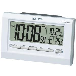 【セイコー】SEIKO 電波目ざまし時計 SQ755W 【時の逸品館】|ippin-seiko-clock