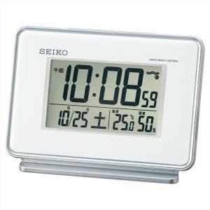 【セイコー】SEIKO 電波目ざまし時計 SQ767W 【時の逸品館】|ippin-seiko-clock