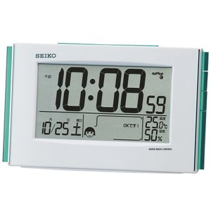 【セイコー】SEIKO デジタル電波目覚まし時計 SQ776W 【時の逸品館】|ippin-seiko-clock