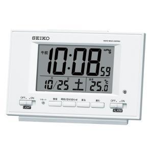 【セイコー】SEIKO デジタル電波置き時計 SQ778W 【時の逸品館】|ippin-seiko-clock