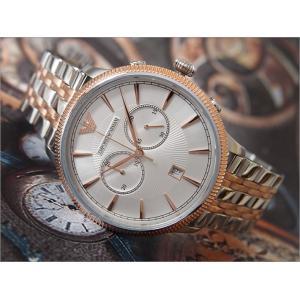 エンポリオアルマーニ EMPOLIO ARMANI 腕時計 AR1826 クォーツ クロノグラフ メンズ メタルベルト ippin