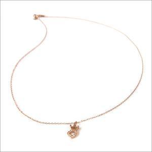 ガガミラノ GAGA MILANO アクセサリー K10 ハート ダイヤ ネックレス|ippin