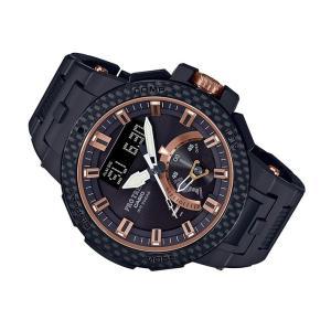 カシオ 腕時計 プロトレック PRW-7000X-1JR カーボンベゼル 世界限定1300本モデル|ippin
