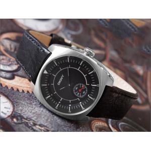 DKNY ダナキャランニューヨーク 腕時計 NY1312 レザーベルト|ippin