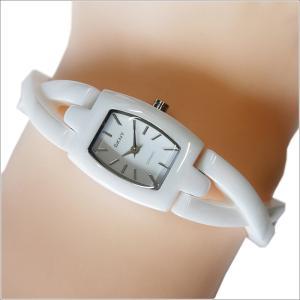 DKNY ダナキャランニューヨーク 腕時計 NY8728 セラミックベルト ippin