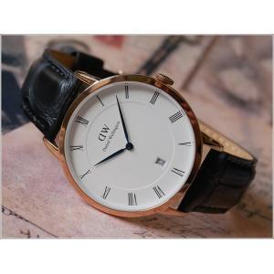ダニエル ウェリントン DANIEL WELLINGTON 腕時計 DW00100107 ローズゴールド 38mm DAPPER READING ダッパー リーディング|ippin