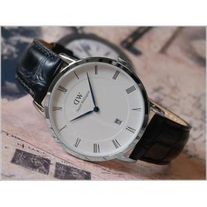 ダニエル ウェリントン DANIEL WELLINGTON 腕時計 DW00100108 シルバー 38mm DAPPER READING ダッパー リーディング|ippin