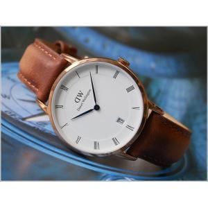 ダニエル ウェリントン DANIEL WELLINGTON 腕時計 DW00100113 ローズゴールド 34mm DAPPER DURHAM ダッパー ダーハム|ippin