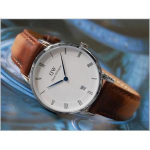 ダニエル ウェリントン DANIEL WELLINGTON 腕時計 DW00100114 シルバー 34mm DAPPER DURHAM ダッパー ダーハム|ippin