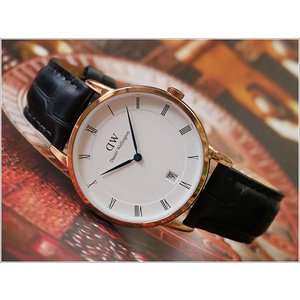 ダニエル ウェリントン DANIEL WELLINGTON 腕時計 DW00100118 ローズゴールド 34mm DAPPER READING ダッパー リーディング|ippin