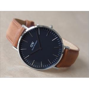 ダニエル ウェリントン DANIEL WELLINGTON 腕時計 DW00100132 DW00600132 シルバー 40mm CLASSIC DURHAM クラシック ダラム ブラック|ippin
