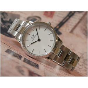 ダニエル ウェリントン DANIEL WELLINGTON 腕時計 DW00100205 シルバー 32mm ICONIC LINK アイコニックリンク|ippin