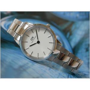 ダニエル ウェリントン DANIEL WELLINGTON 腕時計 DW00100207 シルバー 28mm ICONIC LINK アイコニックリンク|ippin
