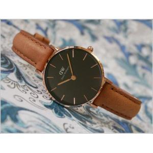 ダニエル ウェリントン DANIEL WELLINGTON 腕時計 DW00100222 DW00600222 ローズゴールド 28mm PETITE DURHAM ペティット ダラム ブラック|ippin