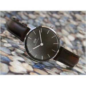 ダニエル ウェリントン DANIEL WELLINGTON 腕時計 DW00100233 DW00600233 シルバー 28mm PETITE BRISTOL ペティット ブリストル ブラック|ippin