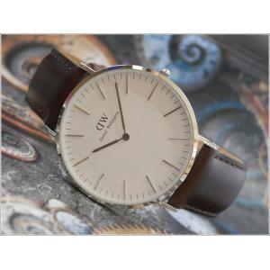 ダニエル ウェリントン DANIEL WELLINGTON 腕時計 DW00100023 DW00600023 シルバー 40mm CLASSIC BRISTOL クラシック ブリストル|ippin