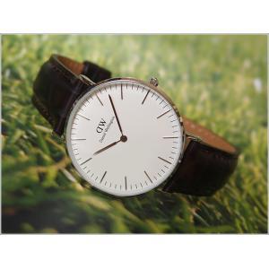 ダニエル ウェリントン DANIEL WELLINGTON 腕時計 DW00100055 DW00600055 シルバー 36mm CLASSIC YORK クラシック ヨーク ippin