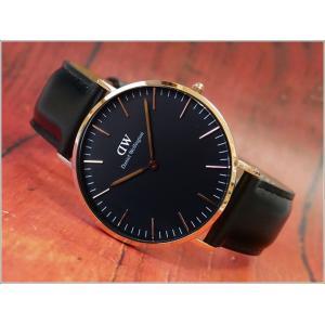 ダニエル ウェリントン DANIEL WELLINGTON 腕時計 DW00600127 ローズゴールド 40mm CLASSIC SHEFFIELD クラシック シェフィールド|ippin