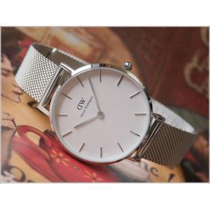 ダニエル ウェリントン DANIEL WELLINGTON 腕時計 DW00600164 シルバー 32mm CLASSIC PETITE STERLING クラシック プチ スターリング|ippin