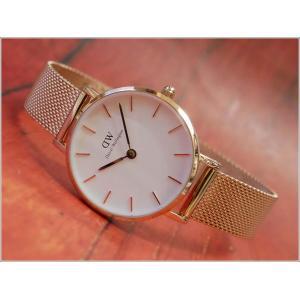 ダニエル ウェリントン DANIEL WELLINGTON 腕時計 DW00100219 DW00600219 ローズゴールド 28mm PETITE MELROSE ペティット メルローズ|ippin