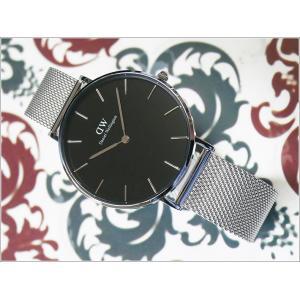 ダニエル ウェリントン DANIEL WELLINGTON 腕時計 DW00100304 DW00600304 シルバー 36mm PETITE STERLING ペティット スターリング ブラック ippin