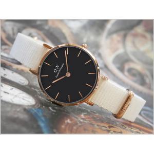 ダニエル ウェリントン DANIEL WELLINGTON 腕時計 DW00100314 DW00600314 ローズゴールド 28mm PETITE DOVER ペティット ドーバー ブラック|ippin