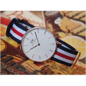 ダニエル ウェリントン DANIEL WELLINGTON 腕時計 DW00100030 DW00600030 ローズゴールド 36mm CLASSIC CANTERBURY クラシック カンタベリー 0502DW|ippin