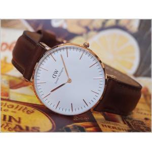 ダニエル ウェリントン DANIEL WELLINGTON 腕時計 0507DW ローズゴールド 36MM CLASSIC ST ANDREWS クラシック セントアンドルーズ|ippin