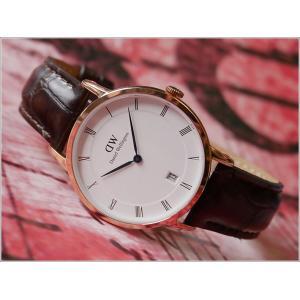 ダニエル ウェリントン DANIEL WELLINGTON 腕時計 1132DW (DW00100093) ローズゴールド 34mm DAPPER YORK ダッパー ヨーク|ippin