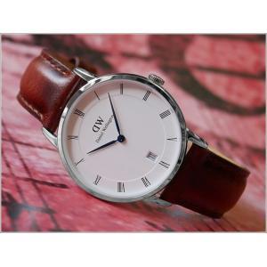ダニエル ウェリントン DANIEL WELLINGTON 腕時計 1140DW (DW00100095) シルバー 34mm DAPPER ST MAWES ダッパー セントモース|ippin