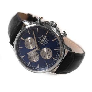 エドックス EDOX 腕時計 01120 3 BUIN レ ベモン クロノグラフ オートマチック|ippin
