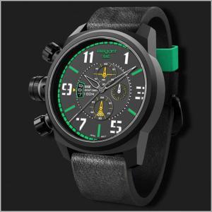 エレガントシス elegantsis 腕時計 ELJF48-OG01LC ミリタリースタイル 航空母艦モデル|ippin
