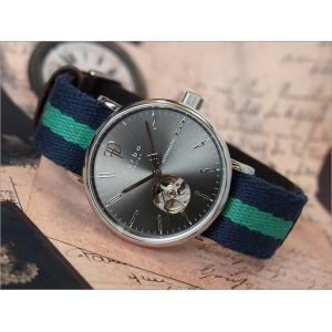 フルボデザイン FURBO DESIGN 腕時計 F2001SNVGR メンズ テキスタイルレザーベルト 機械式自動巻|ippin