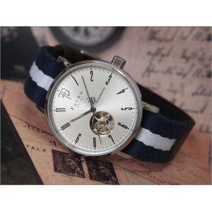 フルボデザイン FURBO DESIGN 腕時計 F2001SNVWH メンズ テキスタイルレザーベルト 機械式自動巻|ippin