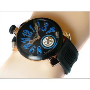 ガガミラノ GAGA MILANO 腕時計 5014.IN.01 ラバーベルト ippin