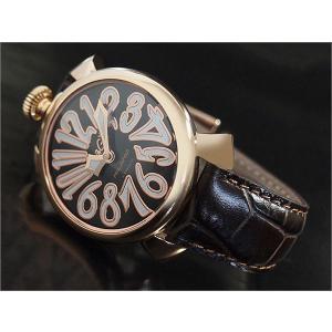 ガガミラノ GAGA MILANO 腕時計 5021.3 レザーベルト|ippin