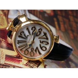 ガガミラノ GAGA MILANO 腕時計 5023.FL.01 レザーベルト|ippin