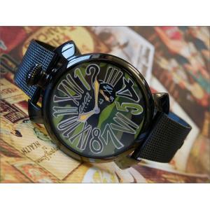 ガガミラノ GAGA MILANO 腕時計 5082.3 メッシュメタルベルト|ippin