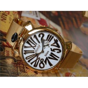 ガガミラノ GAGA MILANO 腕時計 5083.LE.IB02 メッシュメタルベルト ippin