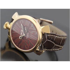 ガガミラノ GAGA MILANO 腕時計 5085.1 レザーベルト|ippin