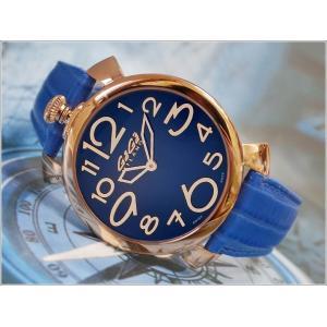 ガガミラノ GAGA MILANO 腕時計 5091.07 レザーベルト ippin