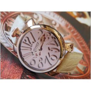 ガガミラノ GAGA MILANO 腕時計 5221.MIR.01 BE レザーベルト|ippin