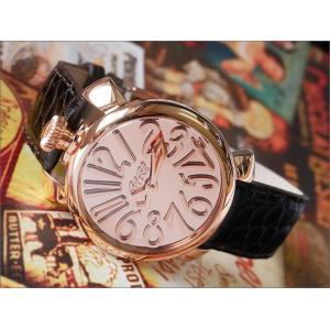 ガガミラノ GAGA MILANO 腕時計 5221.MIR.01 BR レザーベルト|ippin