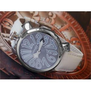 ガガミラノ GAGA MILANO 腕時計 5020.9 レザーベルト アウトレット品 (化粧箱破損)|ippin