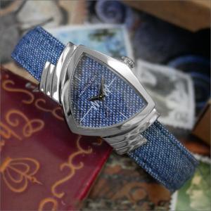 ハミルトン HAMILTON 腕時計 H24211941 レディベンチュラ デニム レザーベルト レディース クォーツ|ippin