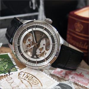 ハミルトン HAMILTON 腕時計 H42555751 ジャズマスター ビューマチック スケルトン レザーベルト メンズ 自動巻|ippin