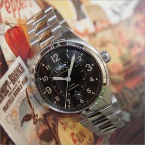 ハミルトン HAMILTON 腕時計 H70505933 カーキフィールド デイデイト メタルベルト メンズ 自動巻|ippin